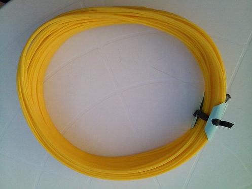 Tubo Espaguetinho 2,6 X 1,2 - amarelo