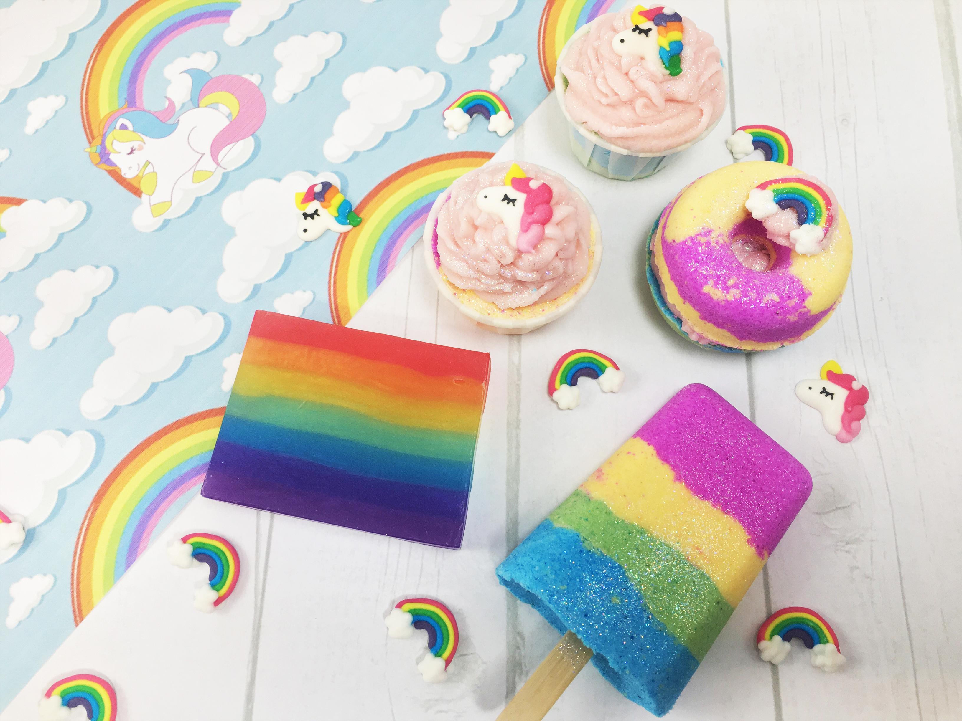 Rainbow Unicorn Gift Set