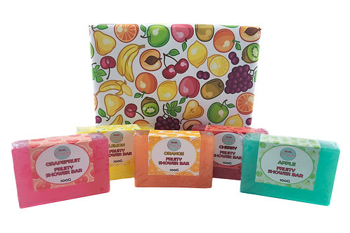 Fruity Shower Bars Gift Set
