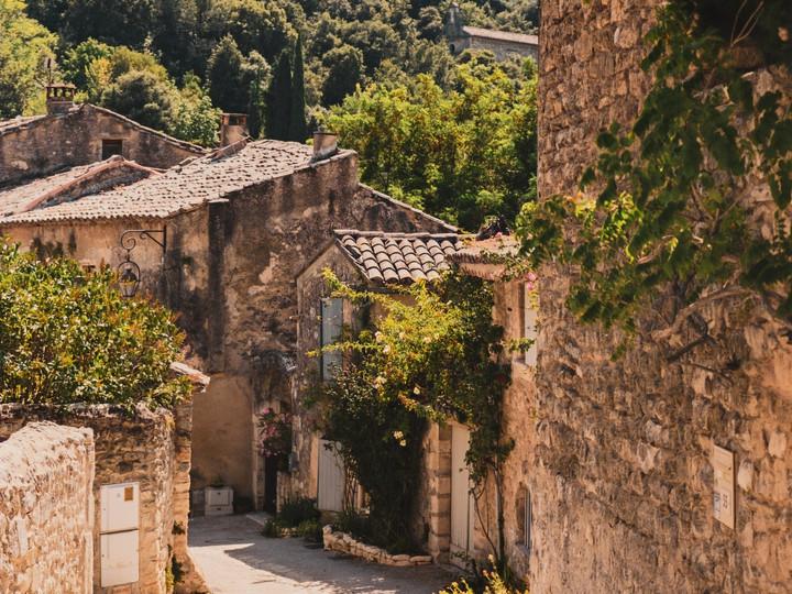 Oppède le Vieux, France