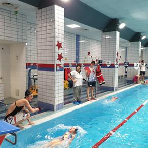 Prove di valutazione 1° trimestre scuola nuoto