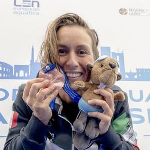 Europei Budapest 2021, Rachele Bruni centra un altro bronzo nella 10km!