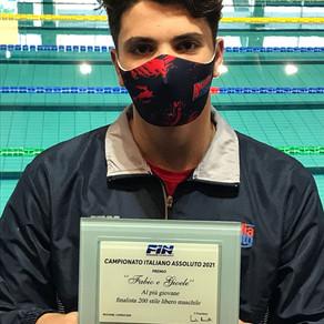 Day 3 - Secondo oro di Burdisso e premio come finalista più giovane al nostro Galossi...
