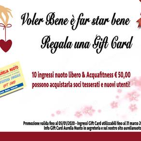Gift Card Aurelia Nuoto!