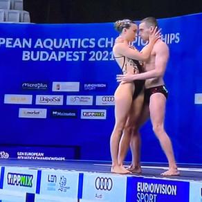 Europei di Budapest, ancora bronzo Sportelli-Ogliari