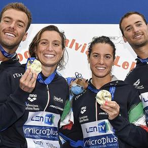 Europei Budapest, ancora Rachele Bruni in staffetta, è oro!