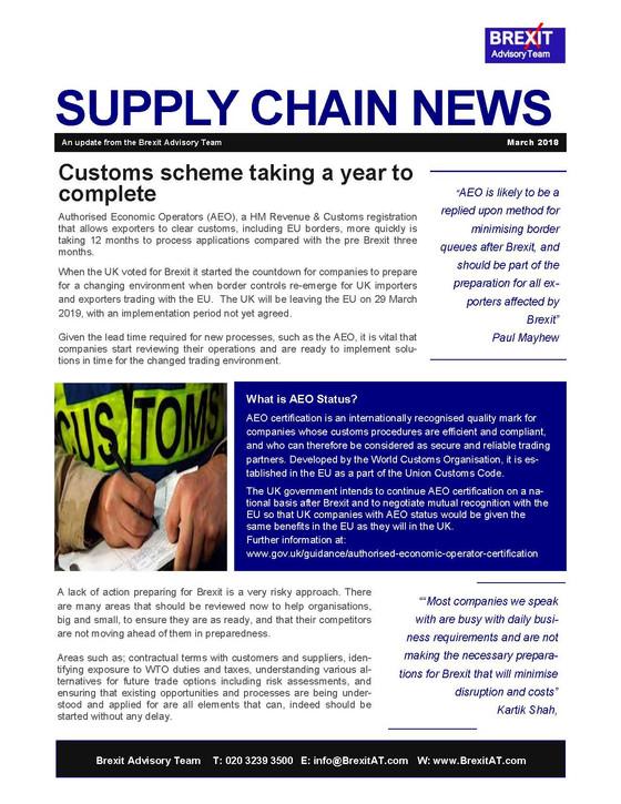 Supply Chain News