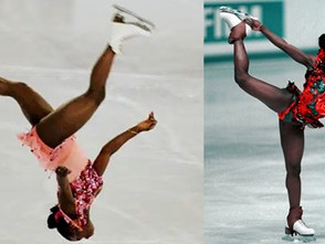 Surya Bonaly: The Only Woman To Do A HISTORIC Landing On One Foot