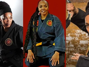 LADY SENSEI CHISOM GERRY IS THE FOUNDING PRESIDENT OF THE WOMEN'S MARTIAL ARTS