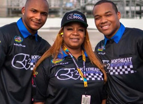 African-American Single Mom is the First Black Woman to Own a NASCAR Team