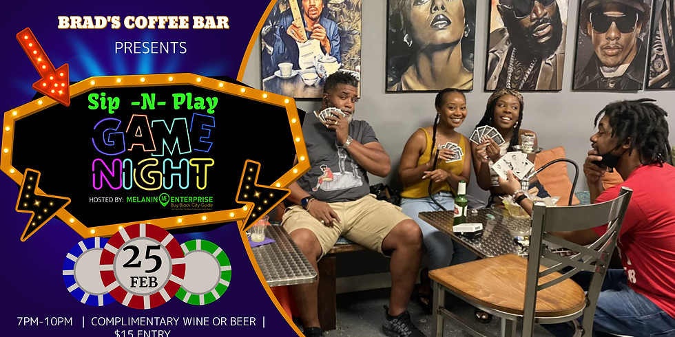 """Sip -N- Play """"No Strings Attached"""" Edition 