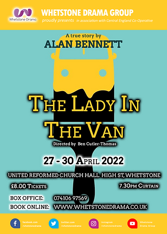 The Lady In The Van - A4 Poster.png