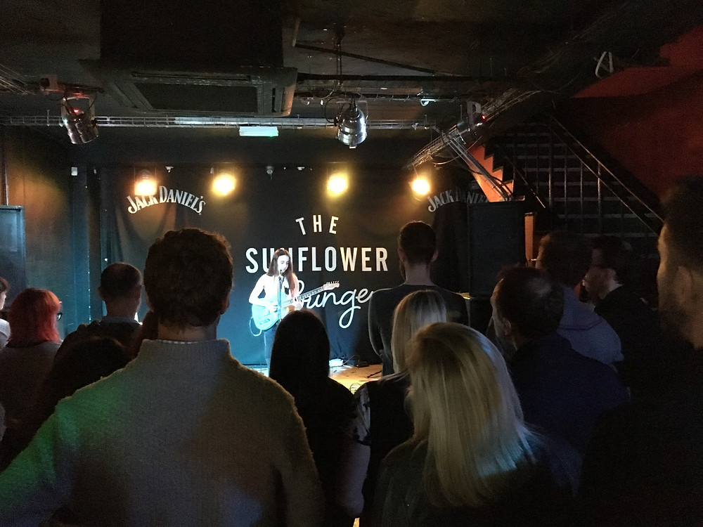 Bryony Williams, Sunflower Lounge with Pete Winwood