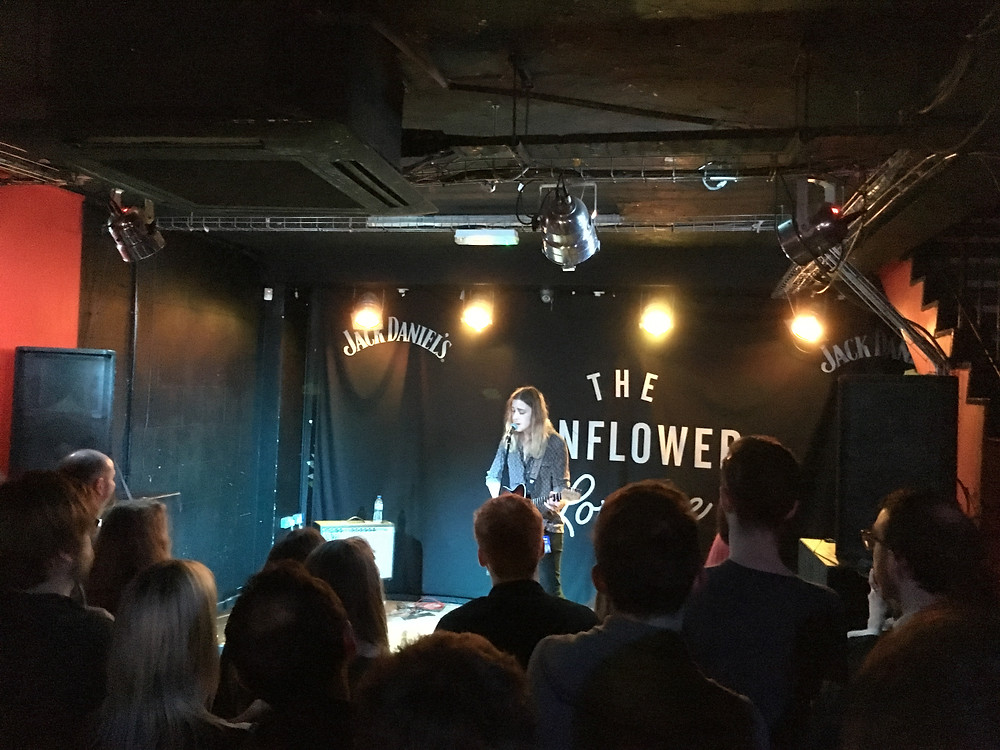 Isaac Gracie at Sunflower Lounge with Pete Winwood.