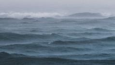 stormachtig Zee