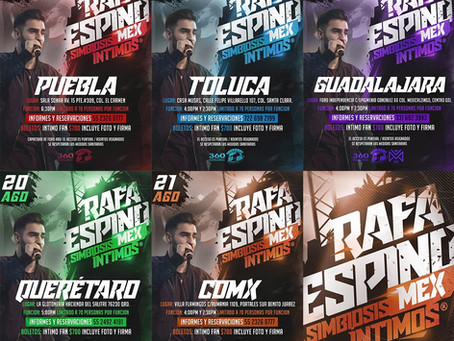 Rafa Espino vuelve a México