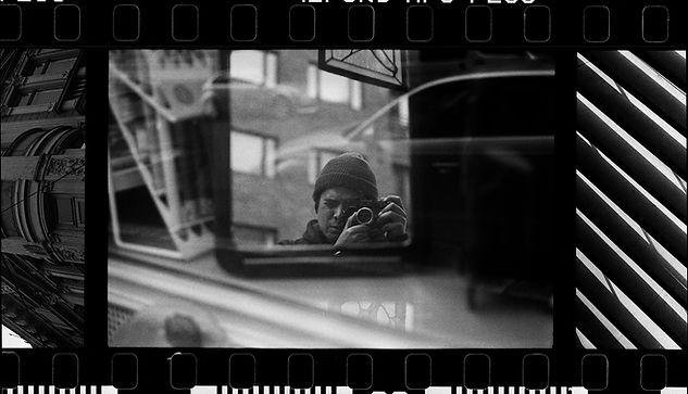 Rafael Gonzalez; 35mm self-portrait. Helsinki, Finland