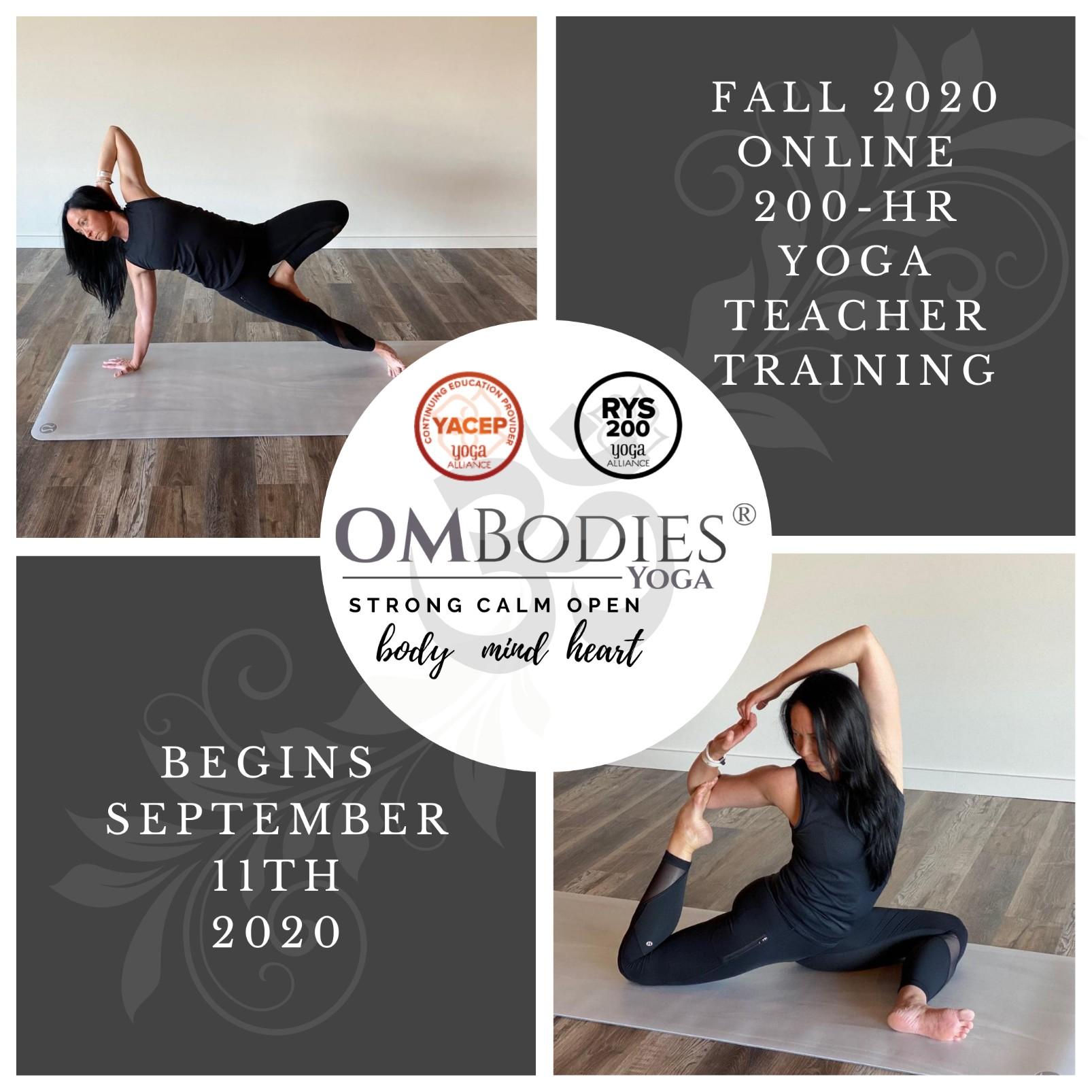 200 Hour Teacher Training Ombodies Yoga United States