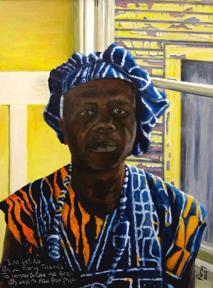 LAPIRO de MBANGA  Portrait