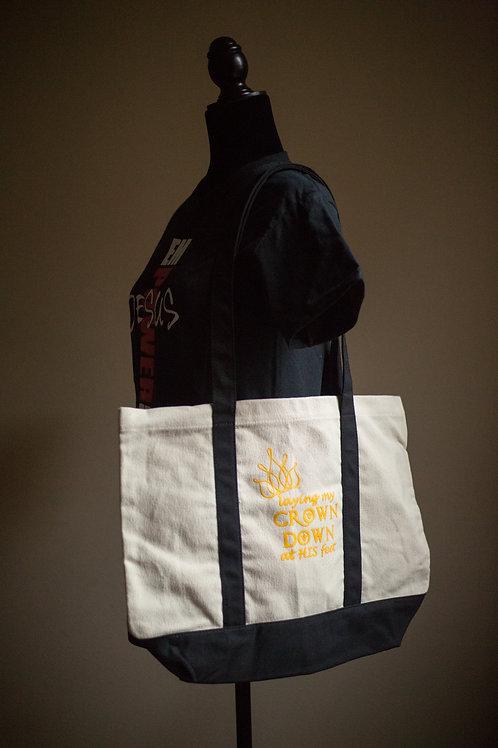 Crown Down Tote Bag