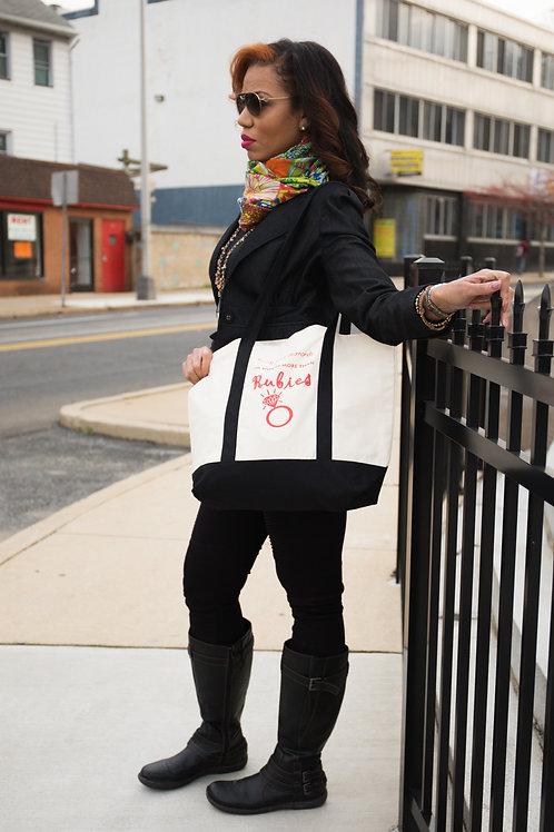 Rubies Tote Bag