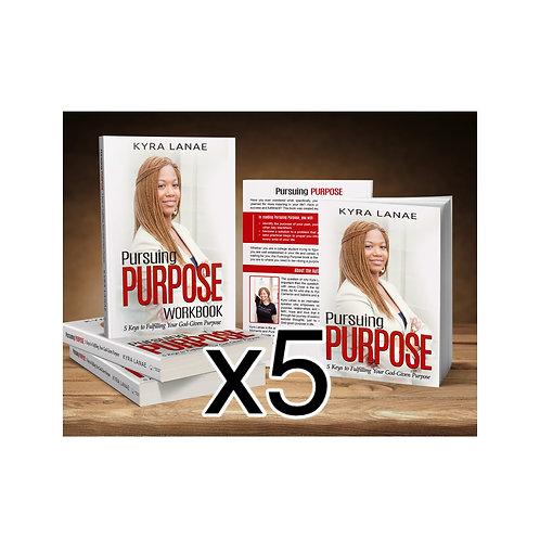 Pursuing Purpose 5 Books & 5 Workbooks