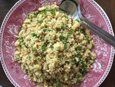 Järisyttävän hyvä kinoa - salaatti :)