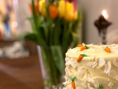 Gluteeniton Porkkanakakku ;)