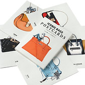 Iconic Bags Postcard Book