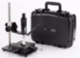 Optical Depth Measurement Micrometer, Comparator,  Non Destructive Testing, NDT