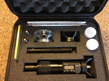 Optical Depth Measurement Micrometer, Comparator,  Non Destructive Testing, NDT
