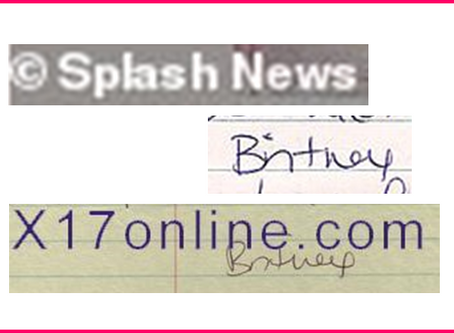 Letter: Britney's account of 2008