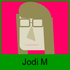 Abstract representation of Jodi Montgomery