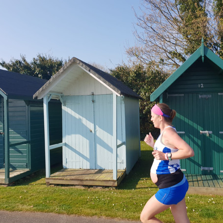 Running during pregnancy - looking after your body