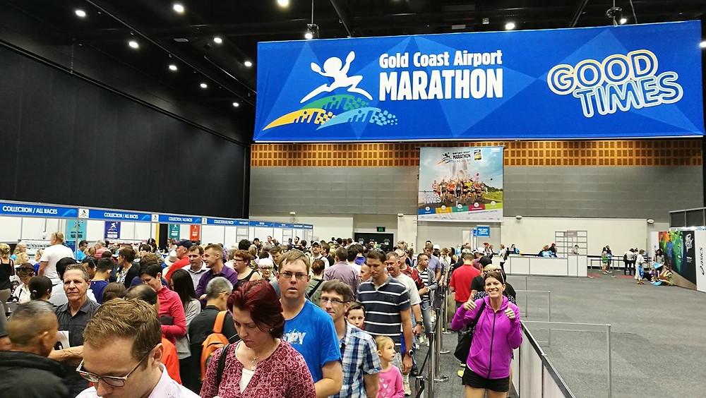 Image of the Gold Coast Marathon expo