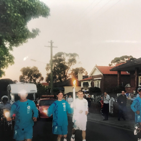 The time I ran in the Sydney Olympics Torch Relay