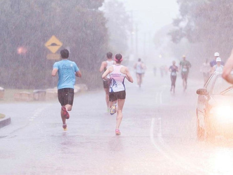 Tips for training in the rain