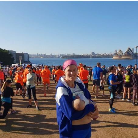 Running and breastfeeding