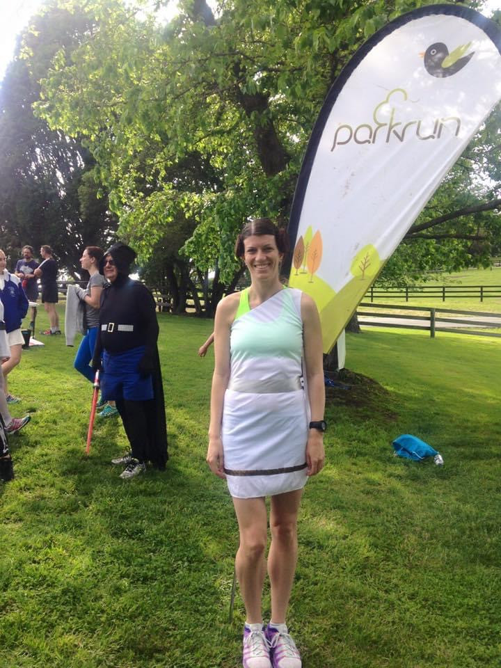 Dressing up at parkrun