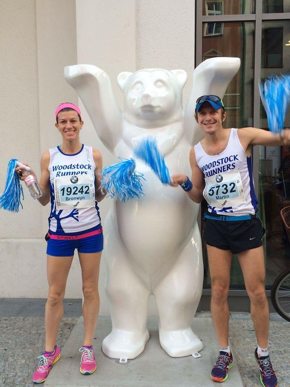 Image of race morning at the 2016 Berlin Marathon