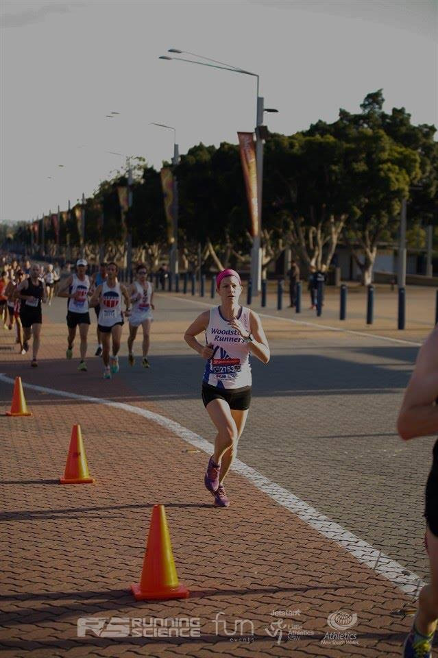 Image of me running the Sydney:10