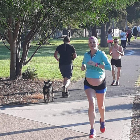 Running during pregnancy (the third trimester)