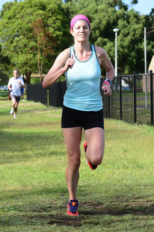 Image of me running parkrun
