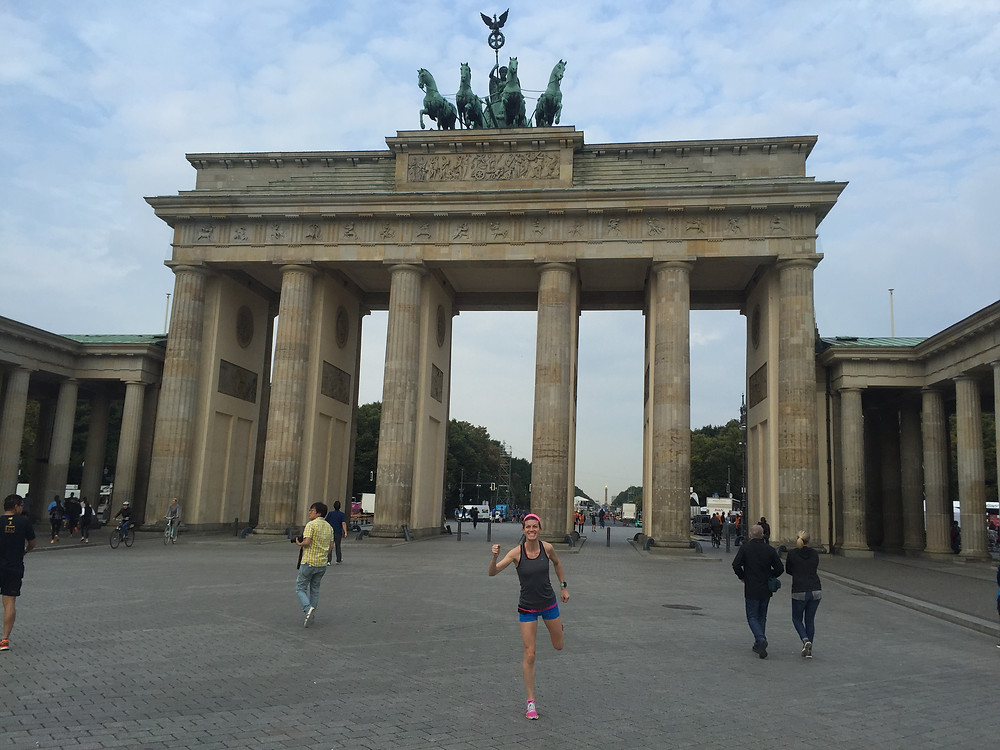 Image of our sightseeing run in Berlin