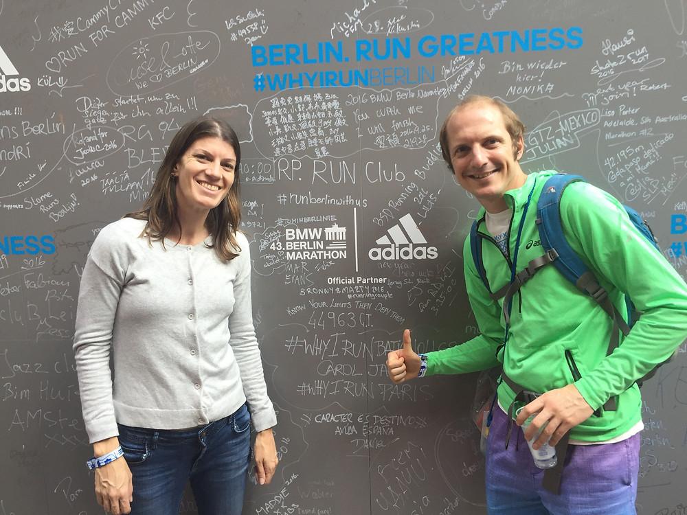 Image of the Berlin Marathon expo