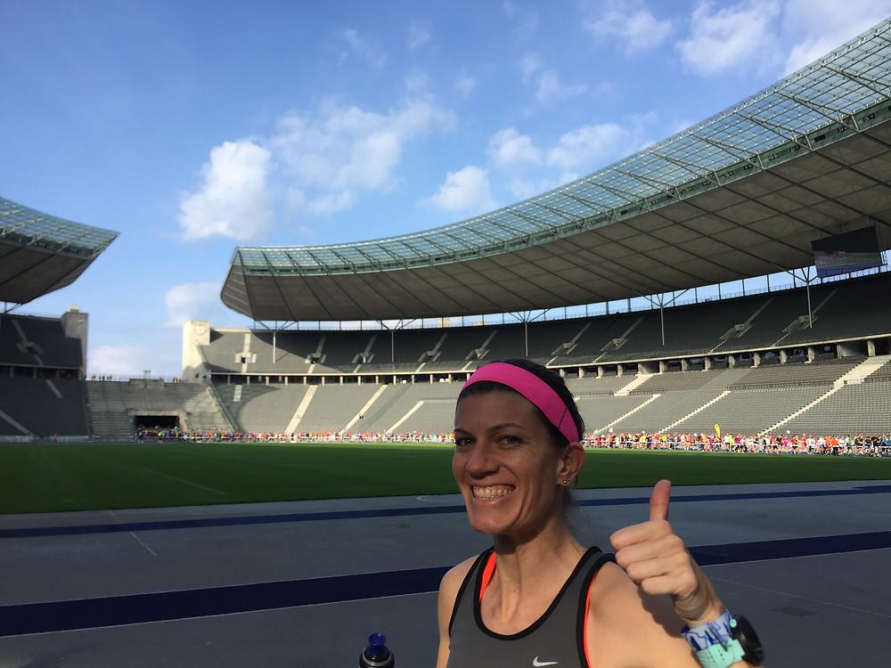 Image of running the Berlin Marathon breakfast run