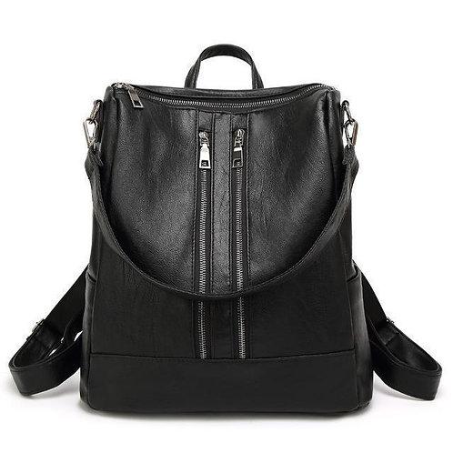 Sha Vegan Leather Backpack