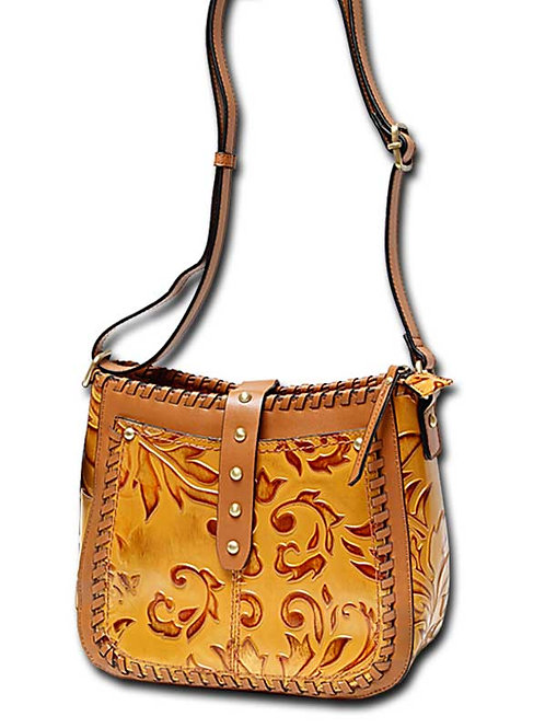 Sue Genuine Leather Crossbody