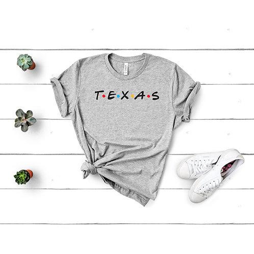 Texas Friends Tee