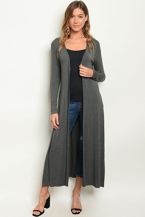 Long Knit Cozy Cardigan-See more colors
